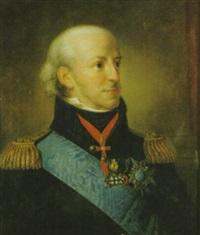 porträtt föreställande kung karl xiii by per krafft the younger