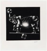 rhinocerous by mario avati