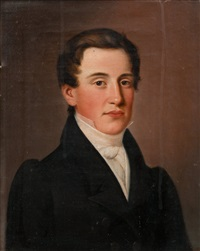portrait of carl adolph lemberg by johan erik lindh