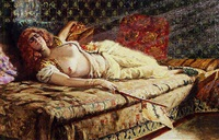 odalisque by pierre francois bouchard