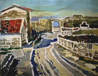 crimean fortress by lidija auza