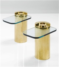 side tables (pair) by karl springer