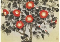 red camellia by chinami nakajima