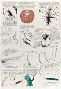 untitled (the first artist's) by raymond pettibon