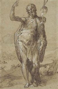 saint john the baptist by taddeo zuccaro
