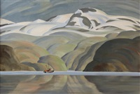 near tracy arm by ronald threlkeld jackson
