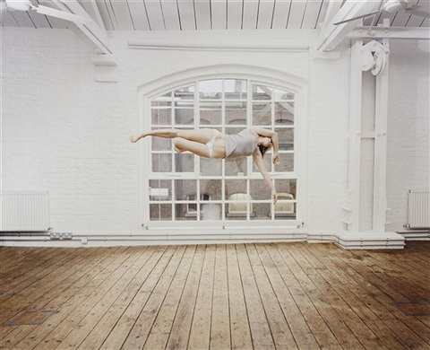 self portrait suspended vii by sam taylor wood
