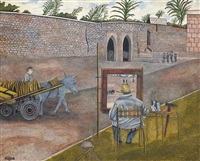churchill painting in morocco by james lloyd