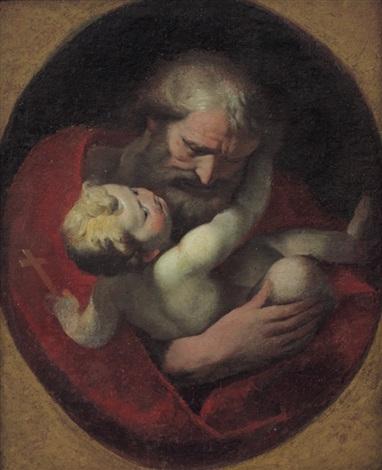 san giuseppe con bambino by giulio cesare procaccini