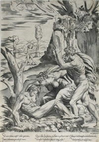 adam und eva beweinen den tod abels by girolamo fagivoli