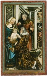 die anbetung der könige by leonhard beck