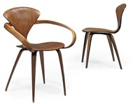 two cherner chairs by paul goldman