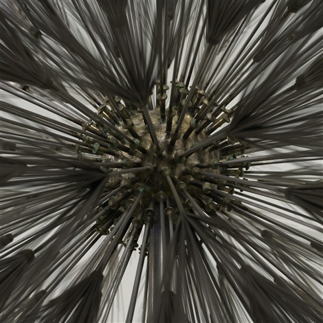 untitled dandelion by harry bertoia
