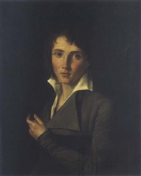 portrait d'un jeune garçon by jean louis david