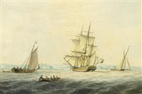 shipping off a headland by william anderson