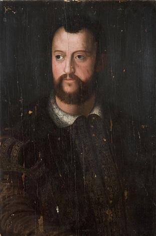 portrait von cosimo i by agnolo bronzino