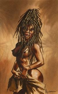 une africaine dénudée by dany