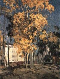 automne en ville by nicolas gorov