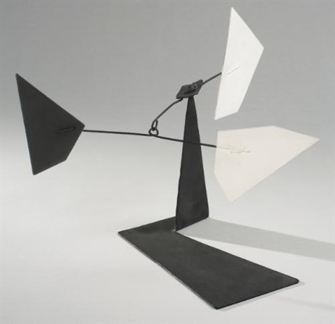 untitled maquette for work in progress by alexander calder