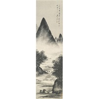 landscape by zhan jingfeng