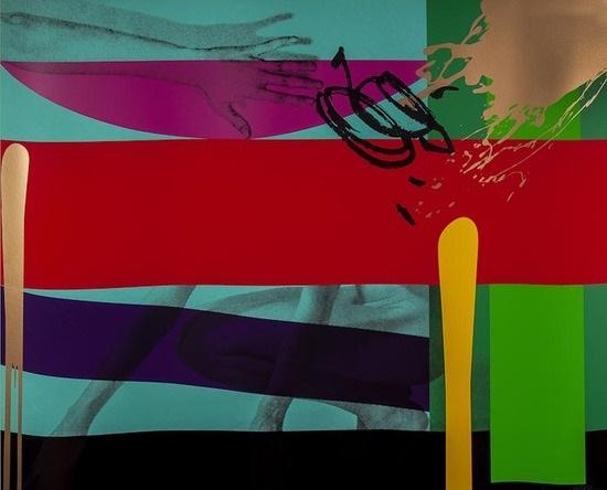 untitled i, untitled ii & untitled iii (3 works) by bruce mclean