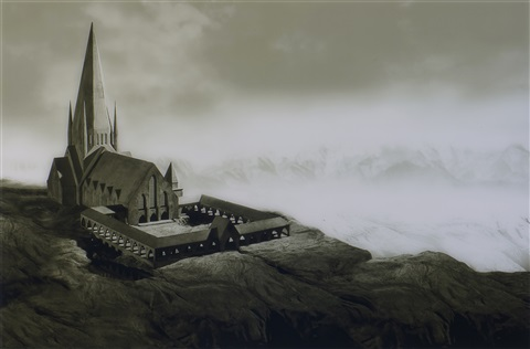 landscape for henry by hans op de beeck