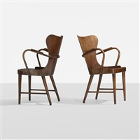armchairs (pair) by soren hansen