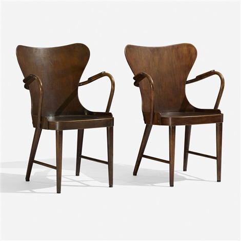 armchairs pair by soren hansen