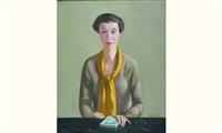 ma soeur au foulard jaune by alfred gaspart