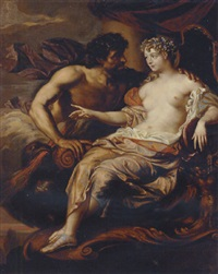 portrait of madame de grignan as hebe with jupiter at her side by augustus (snip) terwesten