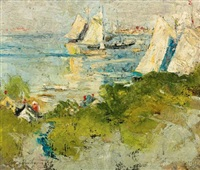 by the sea by charles webster hawthorne