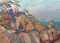 lingonplockerskor vid havet by harald lindberg