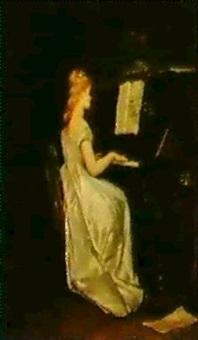 al pianoforte by vito d' ancona