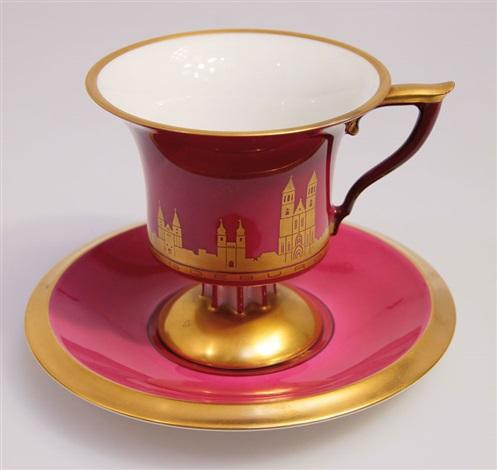 tasse mit untertasse pair by albinmüller