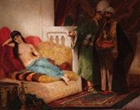tableau oriental by fernand cormon