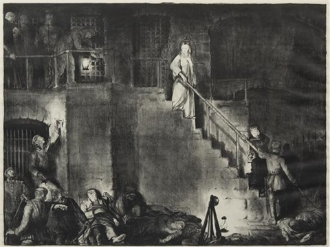 the murder of edith cavell by george wesley bellows