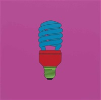 untitled (light bulb) by michael craig-martin