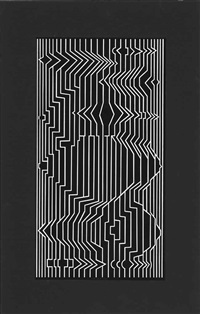 méandre iv by victor vasarely
