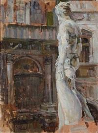 interno di palazzo ducale - venezia by alessandro milesi