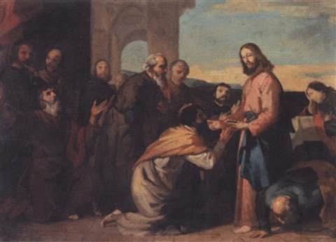 the communion of the apostles by vincenzo camuccini