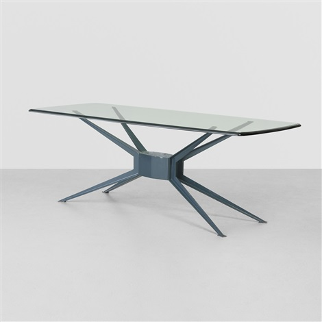 unique dining table by ico parisi