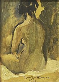 untitled (female nude) by federico aguilar alcuaz