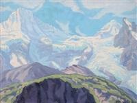 massif du breithorn by robert kämmerer