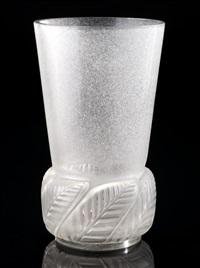 floride vase by rené lalique