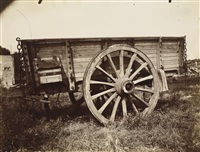farm wagon by eugène atget