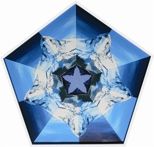 matterhorn pentagonal kaliedoscope by matthew day jackson