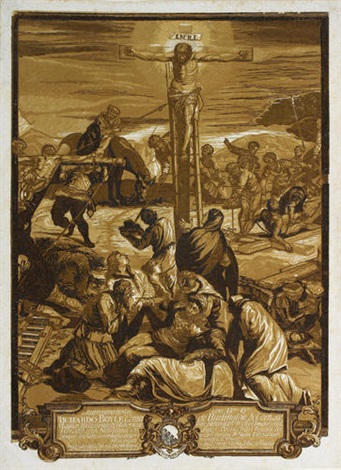 die große kreuzigung after tintoretto by john baptist jackson