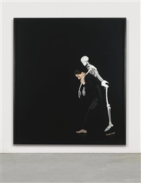 carrying the skeleton by marina abramović