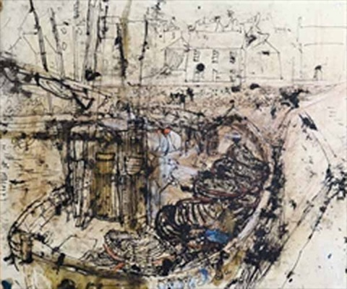 stonehaven harbor by joan kathleen harding eardley