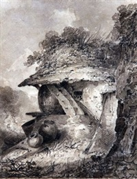 a hovel by john sell cotman